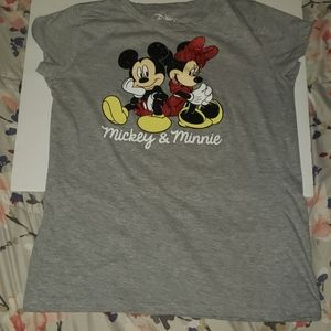 Disney Mickey & Minnie kids shirt